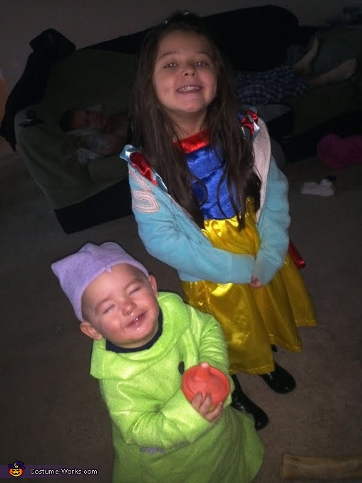 Snow White and Dopey Costumes