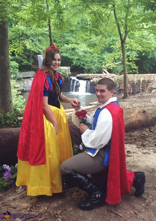 Snow White and her Prince Charming Costume