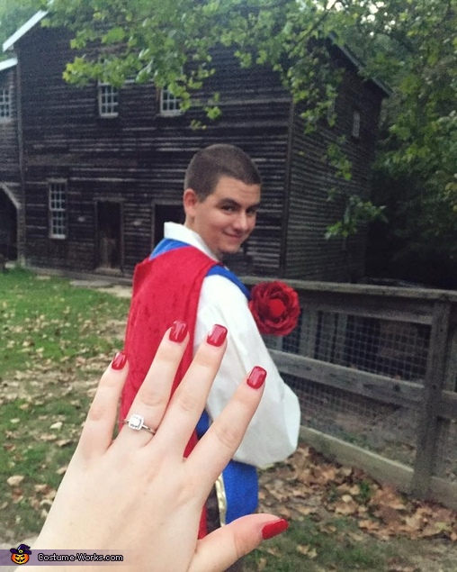 Success...She said yes!!!, Snow White and her Prince Charming Costume