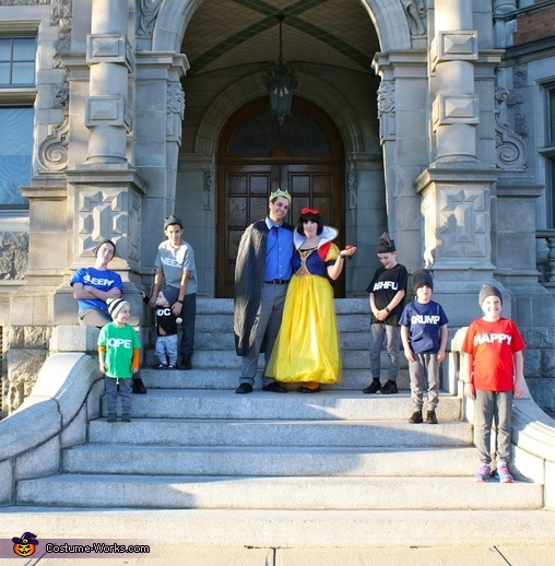 Snow White and the Seven Dwarfs Homemade Costume