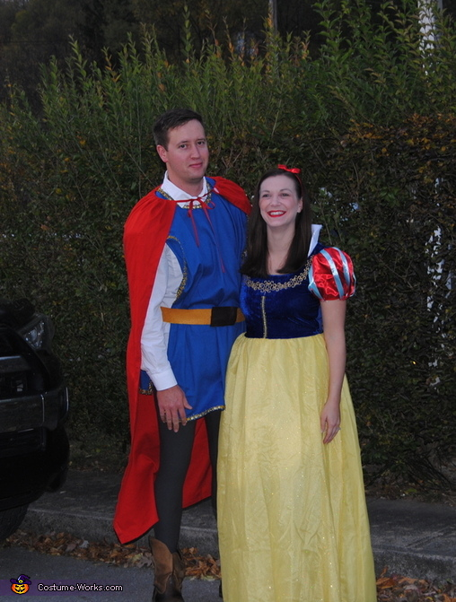 Snow White and Prince Charming, Snow White and the Seven Dwarfs Family Costume