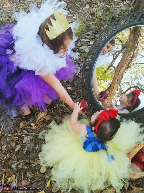 Snow White Baby Homemade Costume