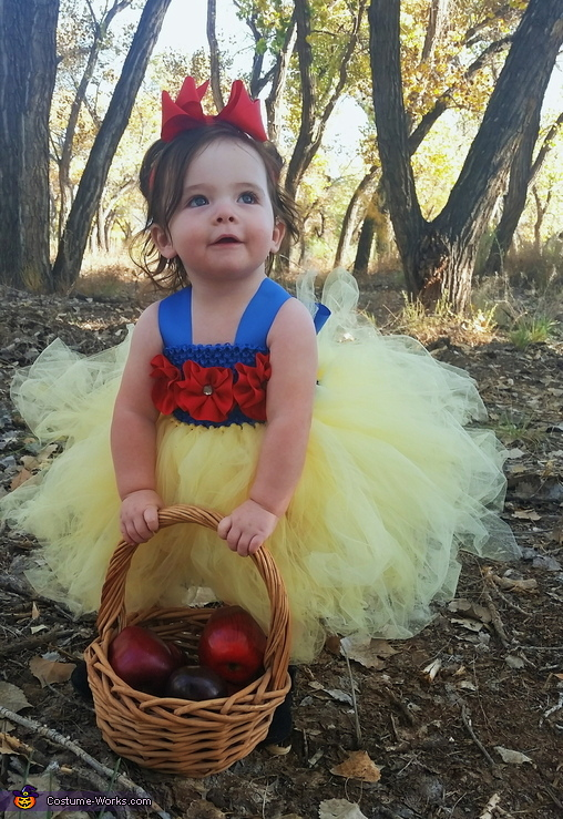 Snow White Baby Homemade Costume