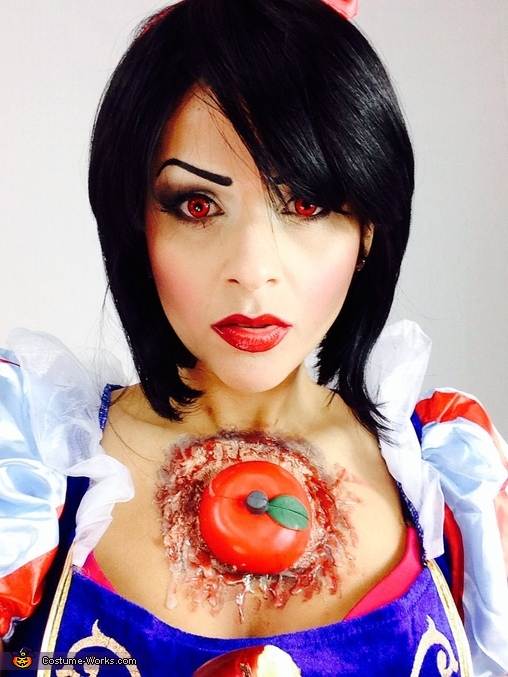 Snow White eat the wrong Apple Homemade Costume