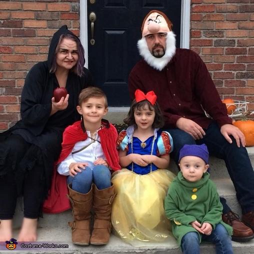 Snow White Fairytale Fam Costume