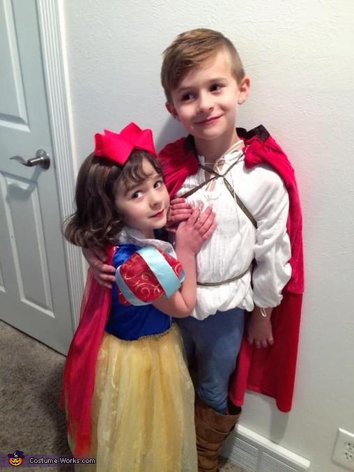 Prince Florian and Princess Sonw White, Snow White Fairytale Fam Costume