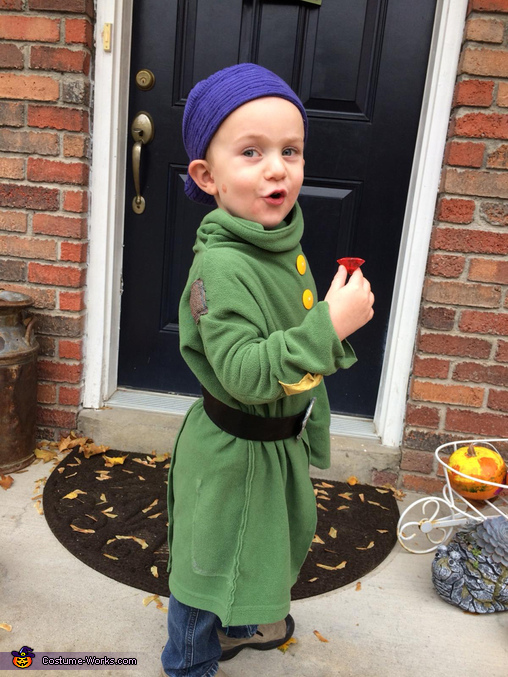 Dopey, Snow White Fairytale Fam Costume