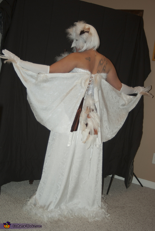 snowy white owl costume photo 35