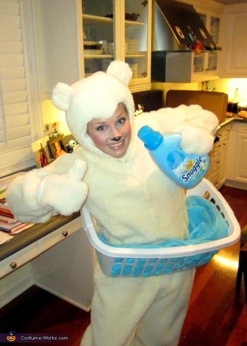 Snuggle Fabric Softener Bear Costume