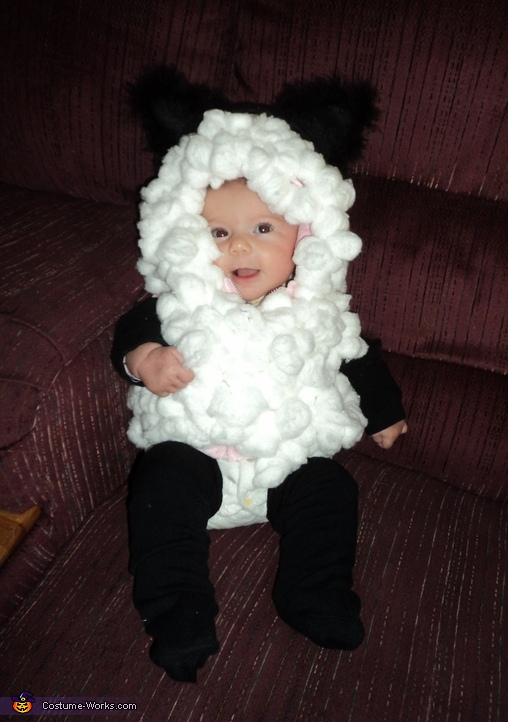 Snuggly Sheep - Homemade costumes for babies