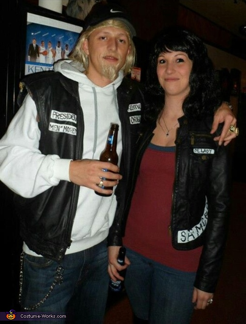Sons of Anarchy Jax and Tara Couple Costume