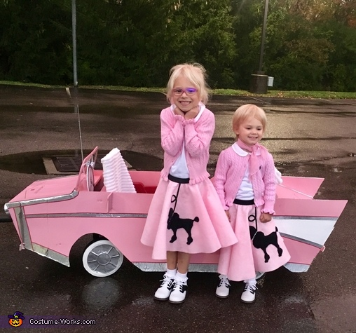 Sock Hop Girls Costume