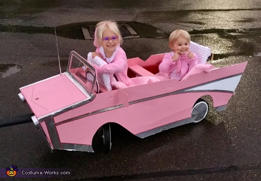Cruising in our '57 Chevy, Sock Hop Girls Costume