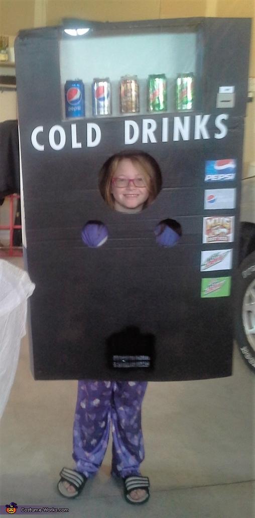 Soda Machine Costume