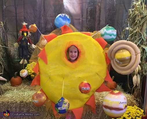 how to make a solar system costume