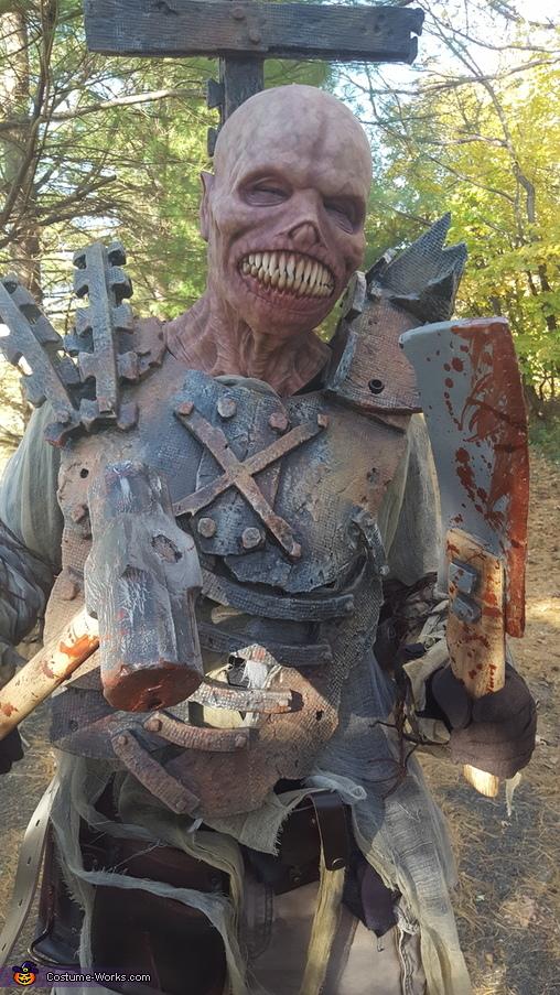 Solder of the Underworld Homemade Costume