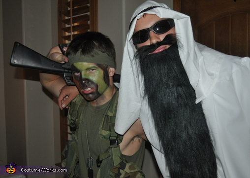Soldier and Terrorist Costume