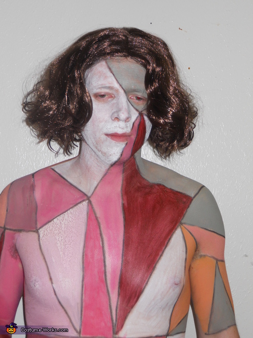 Dan as Gotye, Somebody That I Used To Know Couple Costume