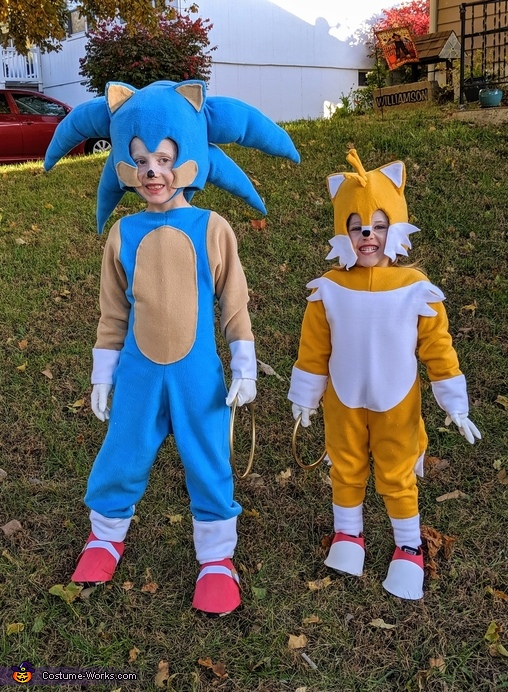 Sonic and Tails Costume