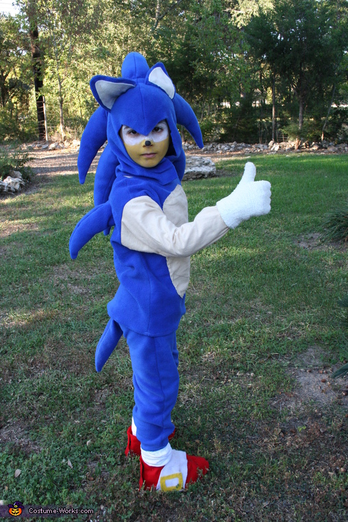 Sonic the Hedgehog - Homemade costumes for boys