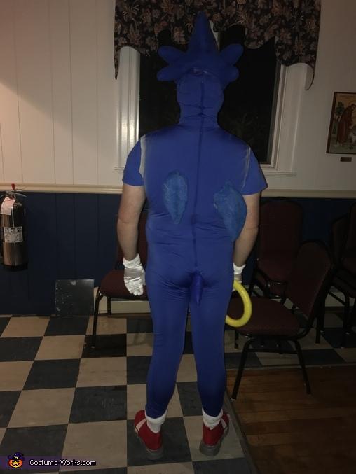Back, Sonic the Hedgehog Costume