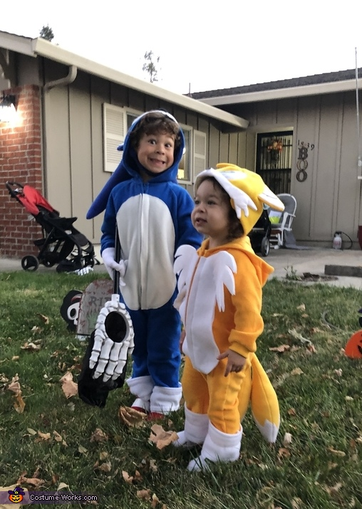 Sonic the Hedgehog and Tails Costume