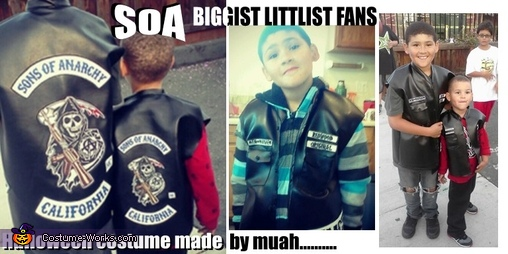 Homemade Sons of Anarchy Costume