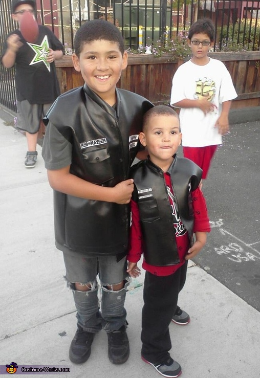 Sons of Anarchy - Homemade costumes for boys