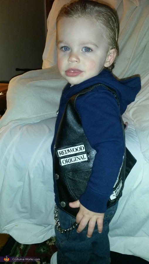 Sons of Anarchy Jax Teller Toddler Costume