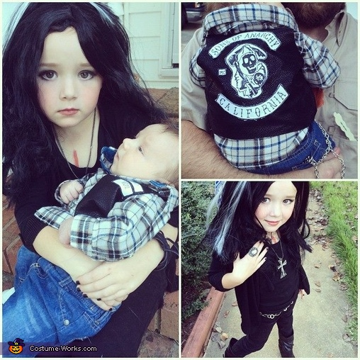 homemade photo book ideas - Sons of Anarchy The Younger Years Halloween Costume