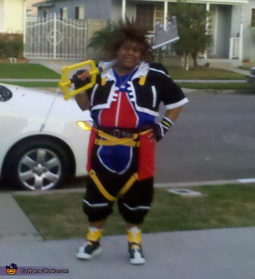 You will open the door to light!, Sora Costume