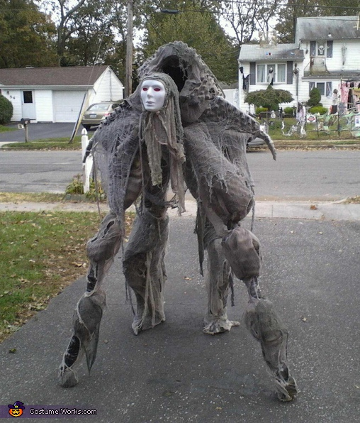 Soul Walker Costume.    sc 1 st  Costume Works & Homemade Soul Walker Costume