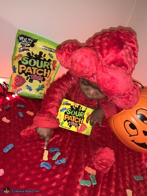 Sour Patch Kid Homemade Costume