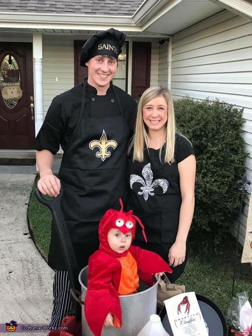 South Louisiana Crawfish Boil Costume