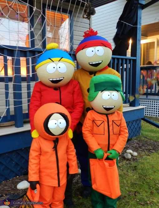 South Park Family Costume