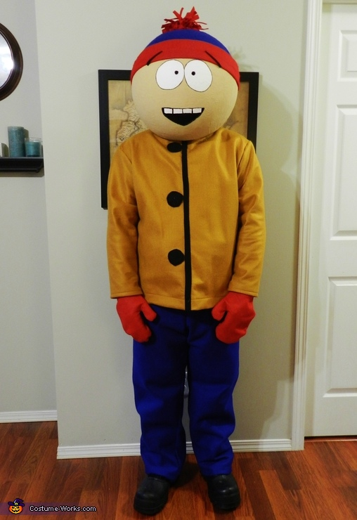 Stan, South Park Family Costume