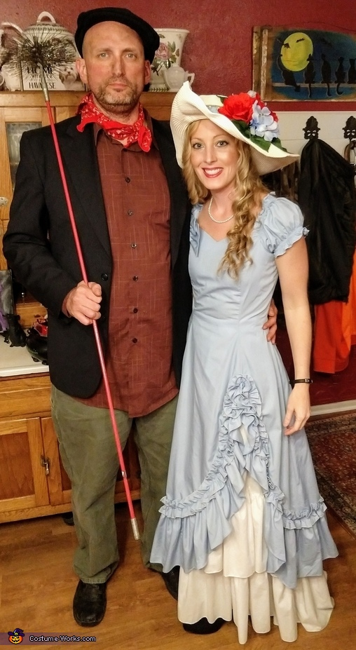 Southern Belle & Chimney Sweep Man Costume