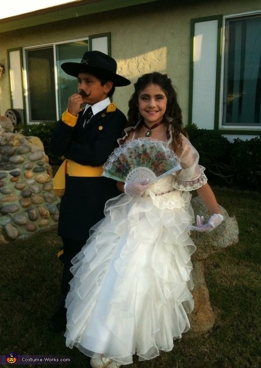 Southern Belle & Civil War Soldier Costume