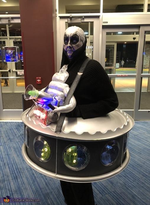 Space Alien Commander Costume