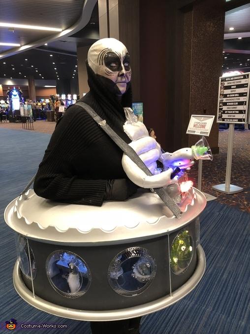 Alien, Space Alien Commander Costume