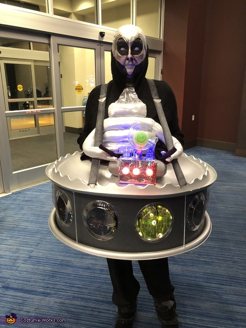 Alien, Space Alien Commander Costume