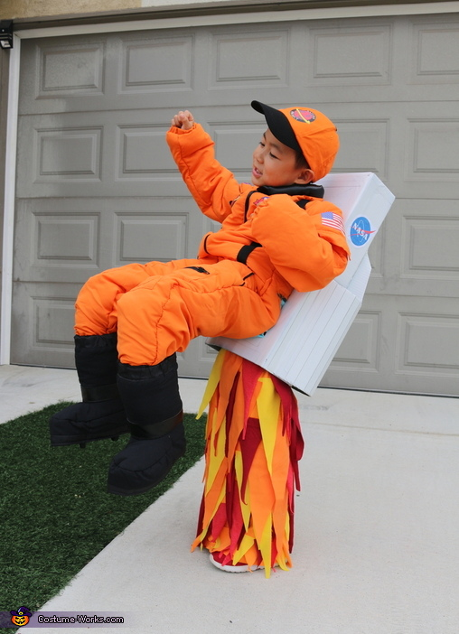 Space Family Homemade Costume