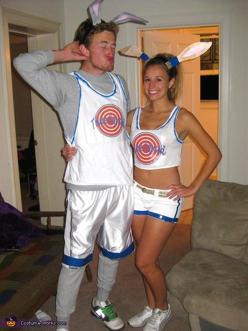 Space Jam Bugs Bunny and Lola Bunny Homemade Costume