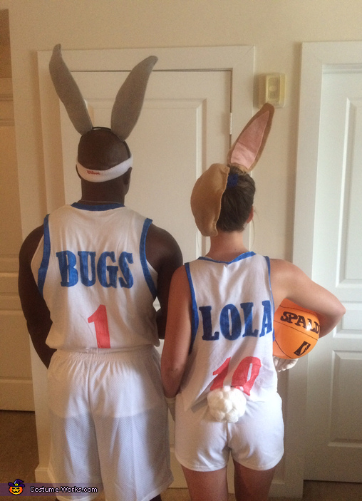 Space Jam Bugs & Lola Bunny Homemade Costume