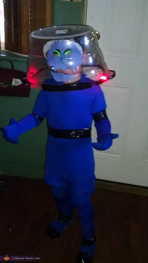 Space Kook Homemade Costume