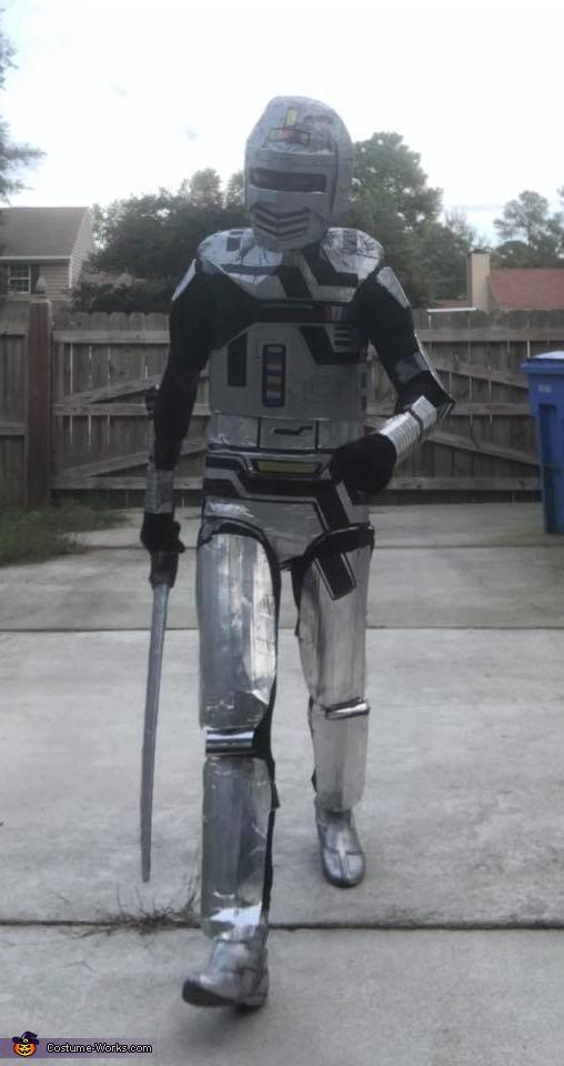 Space Sherrif Gavan Homemade Costume