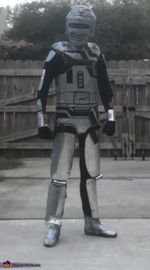 Space Sherrif Gavan Homemade Costume