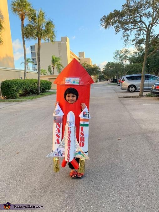 Space Shuttle Homemade Costume