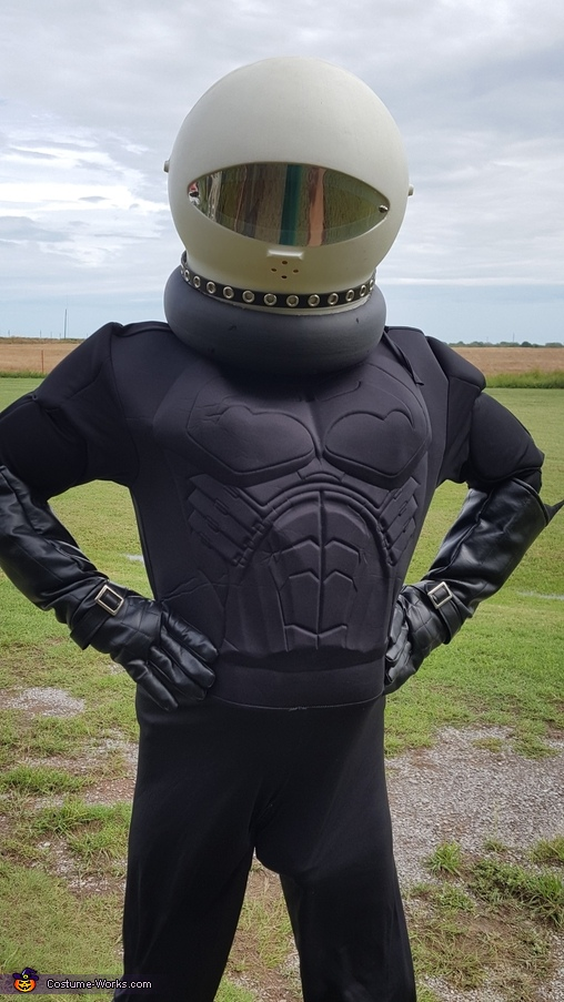 Space Suit Up Homemade Costume