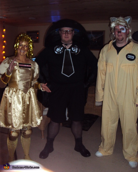 Spaceballs! May the Schwartz be with you! - Homemade costumes for groups